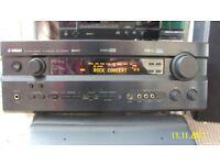 Yamaha RX-V640RDS AV Receiver Pro Logic Dolby Dts Cinema Home Theatre hi fi Amp