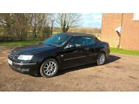 SAAB 93 LINEAR 1.8t CONVERTIBLE 150BHP LOW MILAGE AT ONLY 48,000 MILES