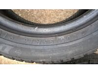 4 Winter Tyres - part worn - 205/55R16