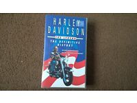 Harley Davidson The Definitive History: VHS Tape