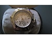 gent,s tag heuer 200 exclusive automatic chronograph 7750 with original box,s and papers circa 2002