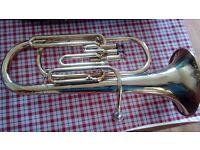 Amati Kraslice Brass Baritone Horn (ABH 221)