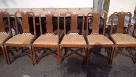 10 vintage chairs