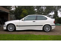 BMW Compact E36 1.8ti with M Sport kit. VGC with loads of new parts.