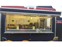 Travelchef 12ft x 7ft Twin Axle Catering Trailer