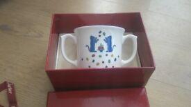 Cartier La Maison des Enfants two handled mug