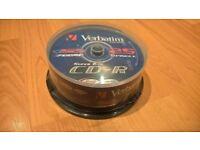 Verbatim CD-R 700 MB 52 X DataLifePlus (spindle package of 25 discs) – Brand new sealed £3.50