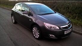 Vauxhall astra exclusive 1.6 low miles