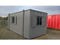 PORTABLE CABIN-20ft OFFICE-SHIPPING CONTAINER