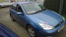 £695 FORD FOCUS 1.6 5 DOOR NEW MOT JULY 2017 GOOD CONDITION INSIDE AND OUT
