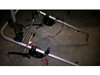Bike carrier - mounts on rear of car, up to three bikes. Used but good condition with instructions