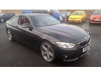 STUNNING BLACK BMW 428 COUPE 2014 64 REG SHOWROOM CONDITION £19995