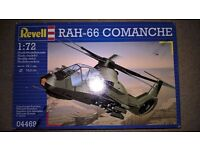 Revell model helicopter - Comanche