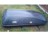 Large thule roof box