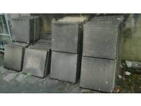 Paving slabs flags