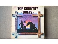 Top Country Duets LP - Johnny Cash