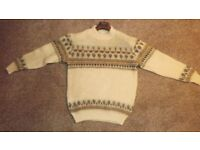 Genuine Icesheep Icelandic Sweater, Size : Small