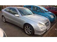 2002 Mercedes Benz C220 cdi diesel automatic