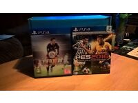 PS4 games FIFA16 and PES2016