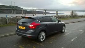 Ford Focus Zetec 2014. Full service history. Alloy wheels. Winter and Summer tyres.