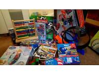 Various kids games and puzzles.
