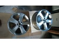 "Vauxhall Mokka Alloy Wheels 18""as fitted to SE model (darker silver colour). £200 for 4 / £60 each."
