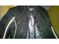 Motor Bike ( AS NEW ) Jacket 10 Medium men/women uni-fit Lovely Fit