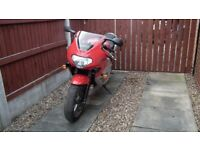Triumph TT600 motorcycle Extremely low Mileage