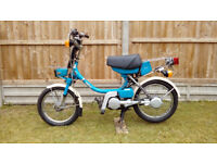 Yamaha QT50 50cc Two-Stroke Shaft-Driven Moped
