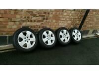 "Vauxhall 16"" Alloy Wheels & Tyres. Astra/Vectra/Zafira"