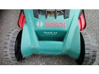 Bosch 34 Trak Quality Lawnmower