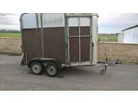 Ifor Williams 505 double hosre trailer