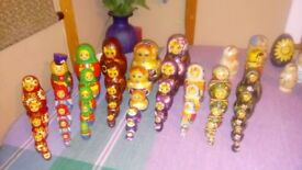 Russian Dolls~various sizes & designs~excellent condition~£6-£8 each