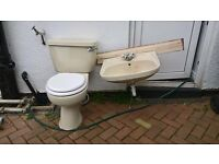 Original Armitage Shanks Toilet and Sink Set