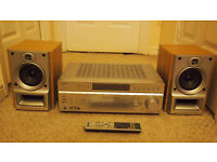 Sony amplifier and Aiwa speakers