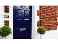 2 bedroom Victorian house with garden close to station and town fully furnished