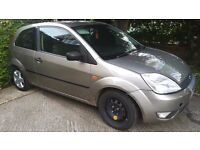 FORD FIESTA 2004,3 DOOR,50000 MILES