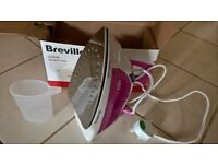 Steam Iron - Breville Easy Glide 2200W Pink and White