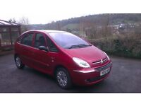 Sold Sold Sold Citroen Xsara Picasso 1.6 Hdi (110HP) Desire 2006 (56) Plate in Metalic Red