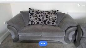 2 x 2seater sofas.
