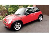 02 Mini Cooper *Stunning*Full MOT* (not civic corsa focus fiesta clio a3 golf leon)