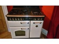 Rangemaster Leisure Classic 90 Cooker Gas Oven and Hob Electric warmer