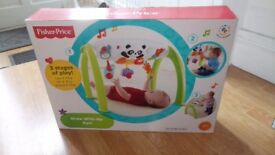 Fisherprice Grow-with-me baby activities gym toy