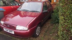 fiesta for spares/ repairs. Clutch gone.