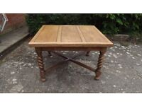 Wanted Oak draw leaf dining table