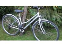 ladies reflex cotswold hybrid step-through bicycle 16 in frame