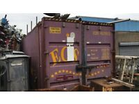 40ft steel container