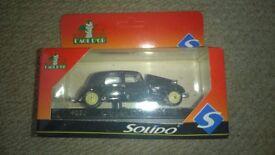 solido citroen 15 cy 1939 - 1 boxed model car set