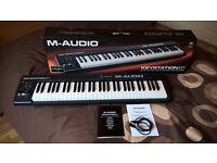M-AUDIO KEYSTATION II KEYBOARD/MIDI CONTROLLER