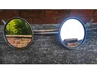 Vintage Motorcycle Mirrors